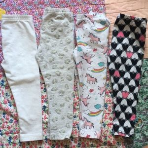 Carter's leggings bundle